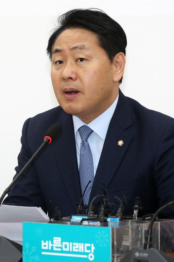 김관영 바른미래당 원내대표 뉴스1