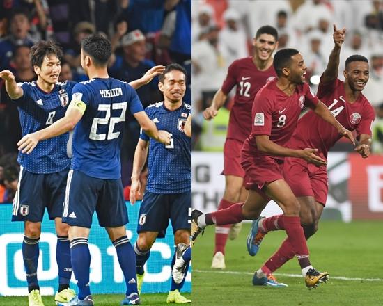 일본과 카타르가 1일 2019 AFC 아시안컵 결승전을 치른다. 대회 최다 우승국 일본과 이번 대회 돌풍을 일으킨 카타르의 대결이다. 연합뉴스 제공