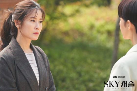 드라마 'SKY캐슬'에서 이수임 역을 맡은 이태란 [사진 JTBC]