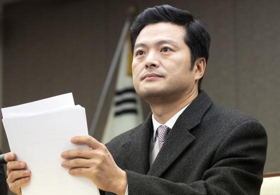 청와대 특별감찰반의 민간인 사찰 의혹을 제기한 김태우 수사관. [연합뉴스]