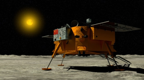 달 뒷면 탐사에 성공한 중국 달 탐사선 '창어 4호' [사진 셔터스톡]