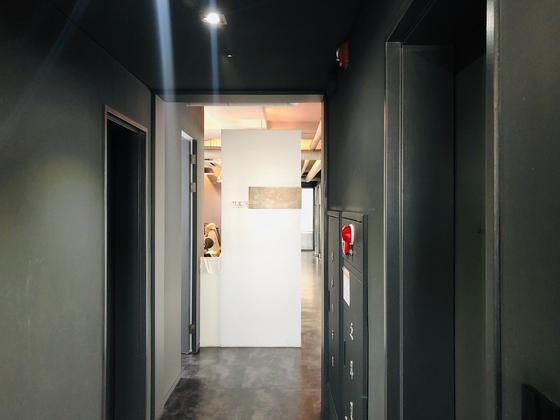 31일 오후 3시쯤 찾은 서울 강남구 역삼동 B빌딩 소재 토리게임즈 사무실 입구. 사무실은 근무자 없이 텅 비어 있었다. 남궁민 기자