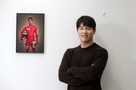 다음달 세계선수권 우승을 목표로 힘찬 질주를 준비하는 윤성빈. 김상선 기자