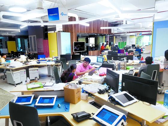 인도 마드라스 공과대학(IITM) 리서치 파크는 창업자들이 자유로운 분위기 속에서 연구에 몰두할 수 있도록 설계됐다. [첸나이=심새롬 기자]