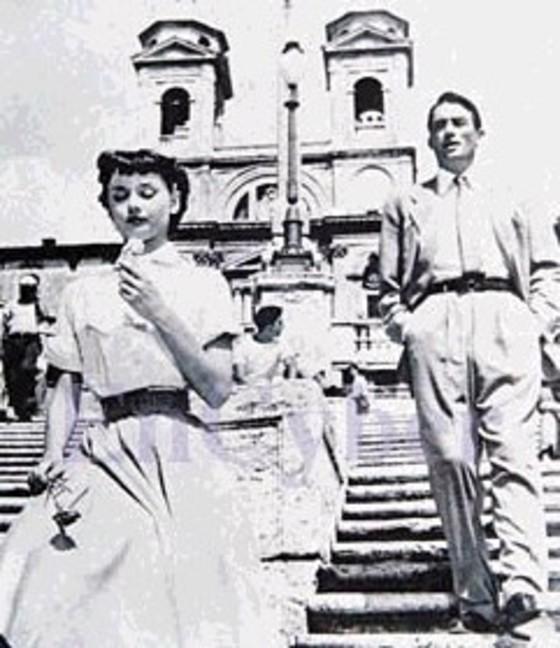 영화 `로마의휴일` 포스터.