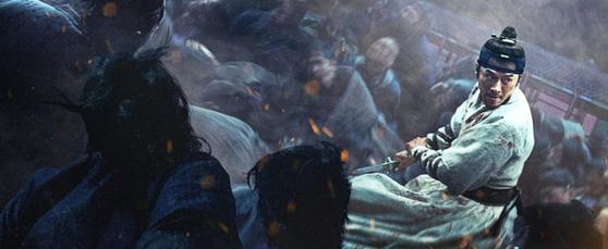 지난해 개봉한 조선판 좀비 액션 영화 '창궐'도 빠르고 강한 좀비를 그렸다. [사진 NEW]