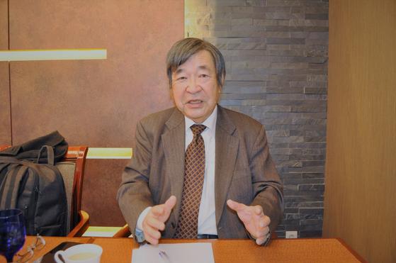 다카키 겐이치 변호사는 지난달 31일 일본 정부가 강제징용 판결을 중재나 국제사법재판소에 가져가도 절대 한국을 이길 수 없다고 주장했다. 남정호 기자
