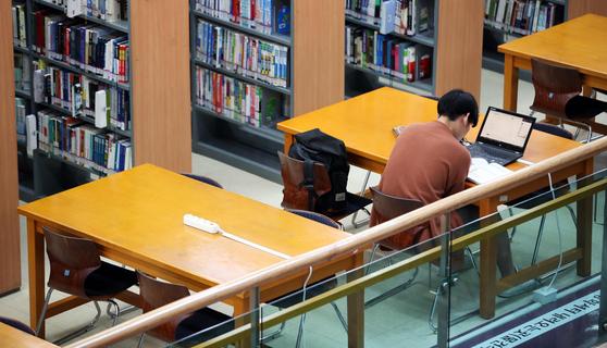 대학교 중앙도서관 자료사진. [연합뉴스]