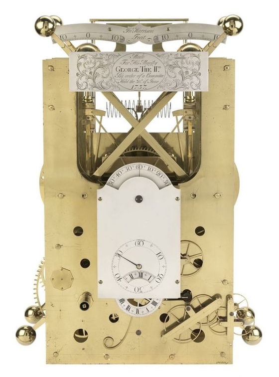 존 해리슨이 1737~1740년 개발한 해상시계 H2.
