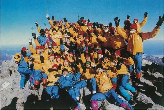 1991년 태평양 돌핀스의 전지훈련. 베이스볼긱 용 사진물