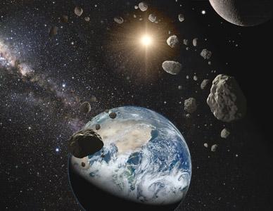 3D 우주. 이번 탐사의 특징은 전체 우주 지도를 구상한 것뿐만 아니라 개별적인 별이나 소행성을 탐색할 수 있다. [출처 Credit: R. White (STScI) and the PS1 Science Consortium]