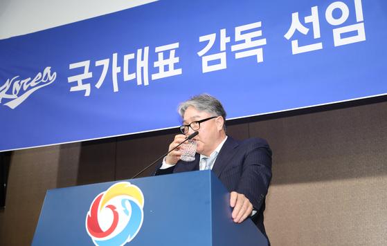 김경문 야구국가대표 전임감독. 양광삼 기자