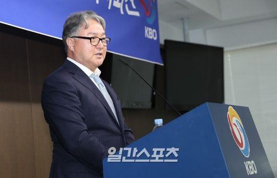 김경문 야구 국가대표팀 감독. IS 포토