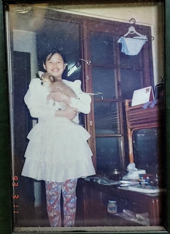 혜희 양의 유년시절. 아빠 송길용씨는 두 딸이 태어난 뒤 하던 사업 등의 일이 모두 술술 잘 풀렸다고 했다. [사진 송길용씨]