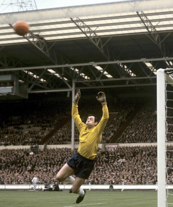1965년 5월 잉글랜드대표팀에서 활약했을 당시 고든 뱅크스. [AP=연합뉴스]