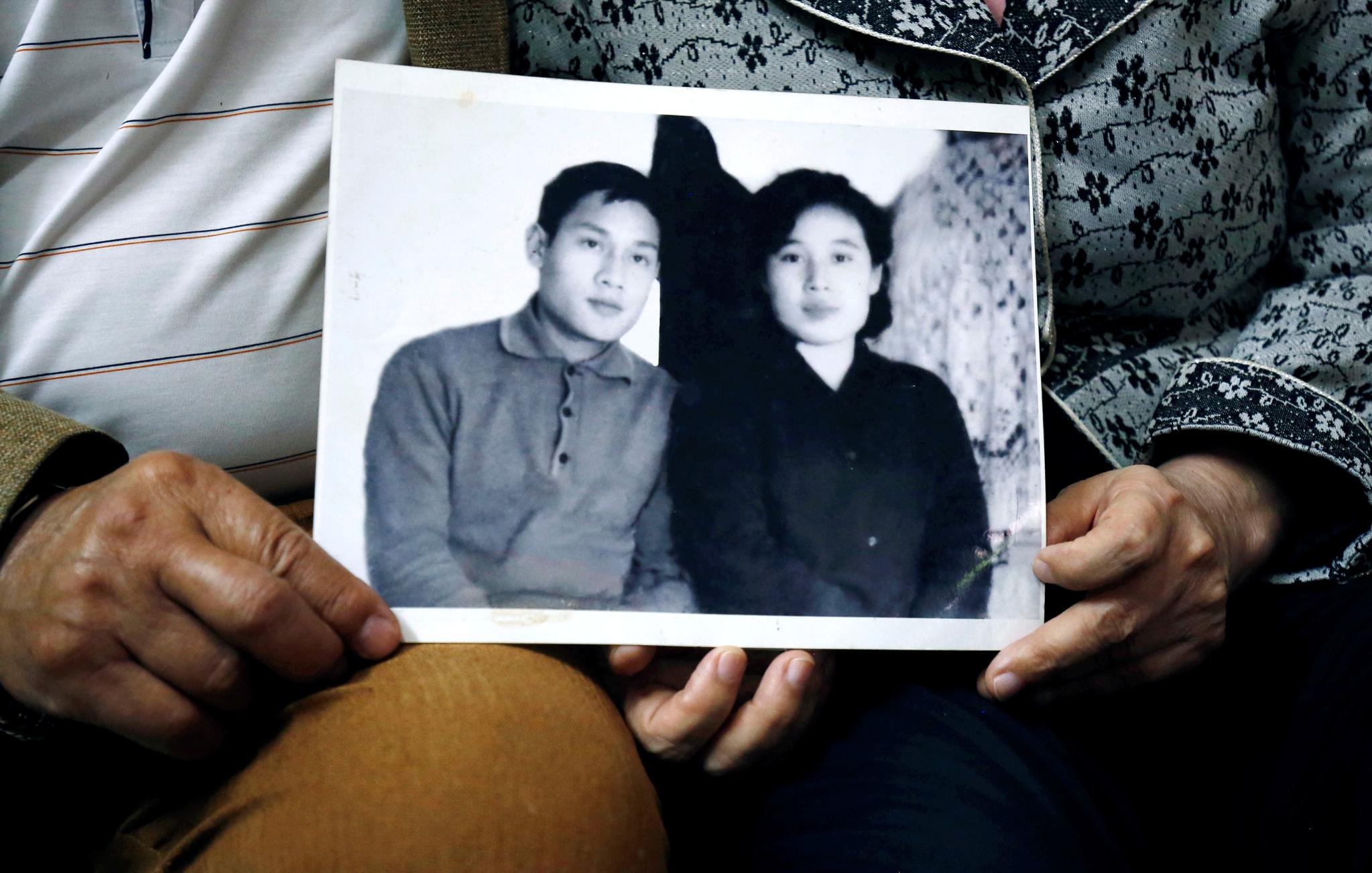 팜 녹 칸과 이영희 씨 부부의 1971년 당시 기념사진. [로이터=연합뉴스]