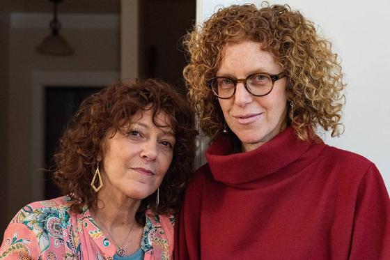 줄리 로슨(왼쪽)과 프레다 허위츠 자매. [사진 WSJ]