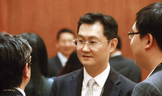 텐센트 창업자인 마화텅 회장. [중앙포토]