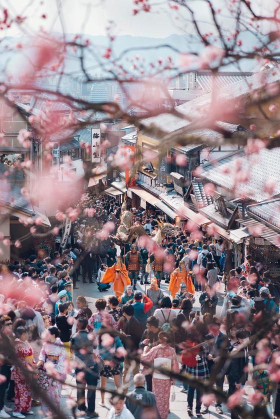 교토 최고 벚꽃 명소 기요미즈데라. [사진 기요미즈데라]