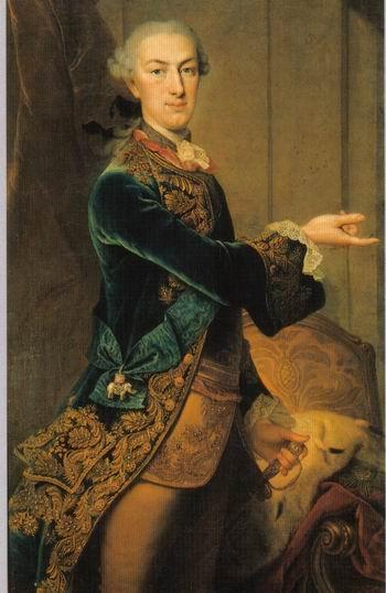 빌헬름1세 - 헷세의 왕. 칼 구스타프 필로 그림. 헤세의 카셀 지방박물관(Museumslandschaft Hessen Kassel)소장 [사진 송동섭]