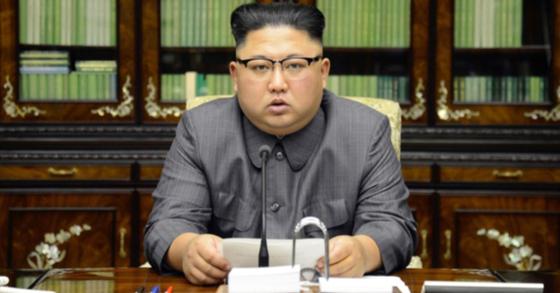 김정은 북한 국무위원장. [사진 노동신문]