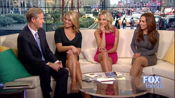 헤더 나워트 미 국무부 대변인 'Fox & friends' 진행 시절 모습.[트위터]
