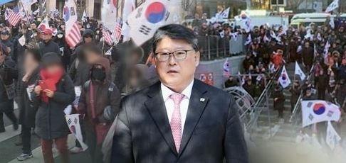 조원진 대한애국당 대표. [연합뉴스TV]