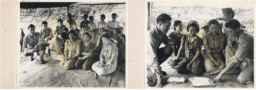 일본군 위안부 한국여성 실물 사진 3점 최초 공개