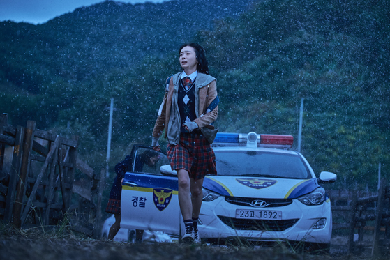 영화 마녀'. 신예 김다미가 살벌한 초능력을 지닌 고교생으로 등장했다. [사진=워너브러더스 코리아]