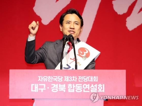 TK 연설회에서 '박근혜' 한번도 언급 안 한 황교안