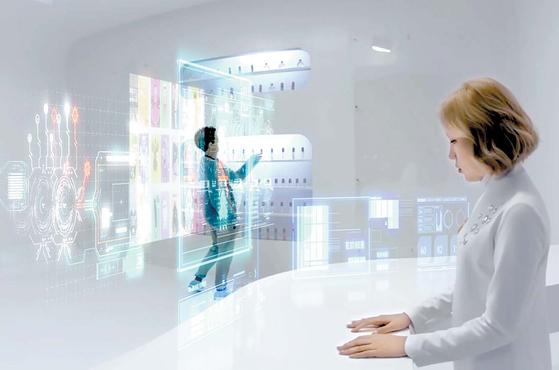 VR 콘텐트는 역사 교육부터 공연·드라마 감상까지 다양하게 활용된다. 사진은 VR 뮤지컬 '안나 마리' 속 장면. [사진 한국콘텐츠진흥원]