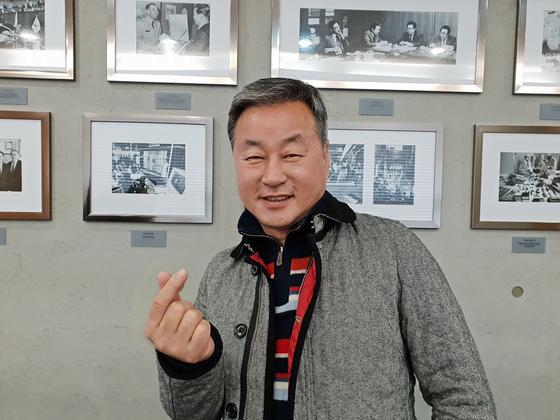 한익종 푸르메재단 기획위원은 1986년 삼성그룹 입사해 20년 넘게 근무하다 2009년에 은퇴했다. 이후 봉사하는 삶을 실천하며 '나누는 삶'을 살고 있다. 서지명 기자