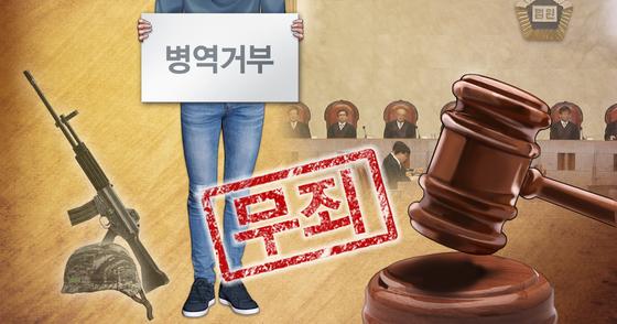 종교 아닌 '신념' 따른 병역거부 첫 인정…'비폭력주의' 20대 무죄
