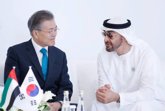 UAE 왕세제 26일 공식 방한…文대통령과 정상회담