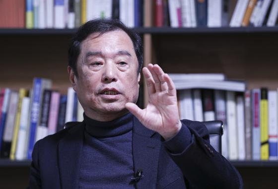 """김병준 """"태극기부대도 당 자산…야유하는 일부, 당 대표성 없어"""""""