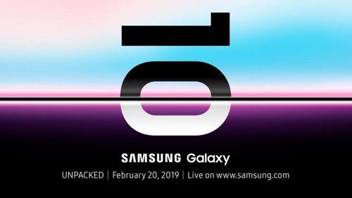 삼성전자는 지난 1월 글로벌 미디어와 파트너 업체에 갤럭시S10 시리즈를 오는 20일 오전 11시(현지시간) 미국 샌프란시스코에서 공개한다고 밝혔다. [사진 삼성]
