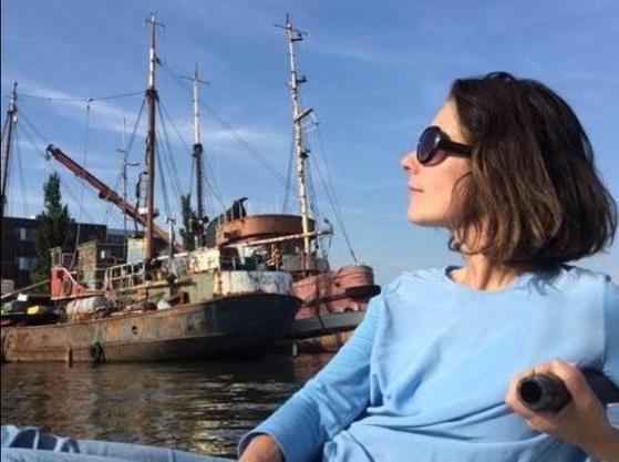 원치않는 임신을 한 여성들에게 안전한 낙태를 하게 해주는 네덜란드 사회단체 '파도 위의 여성들'(Women on Waves) 설립자이자 산부인과 의사 레베카 곰퍼츠. [레베카 곰퍼츠 페이스북]