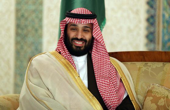 무함마드 빈 살만 사우디아라비아 왕세자. [EPA=연합뉴스]