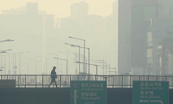 [사진] 오늘 16개 시·도 미세먼지 비상저감조치