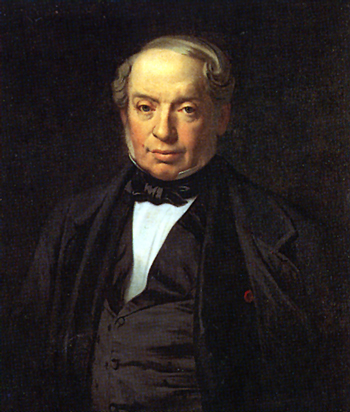 제임스 로스차일드. 로스차일드의 파리 가족을 이끌었다. [사진 Wikimedia Commons]