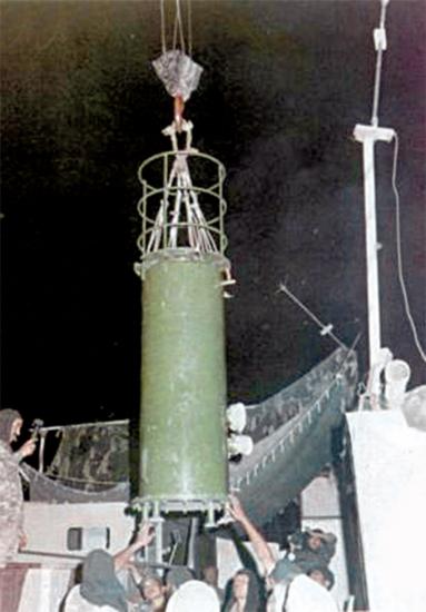 인도가 개발한 핵폭탄 샥티. 인도가 핵을 만들자 인접국가 파키스탄도 가세했다.