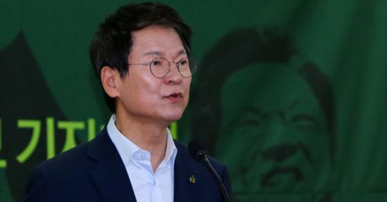 천정배 민주평화당 의원. 조문규 기자