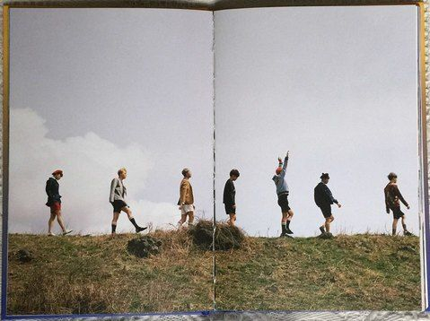 A photo from BTS's Album 'The Most Beautiful Moment in Life: Young Forever'. Photo from BTS