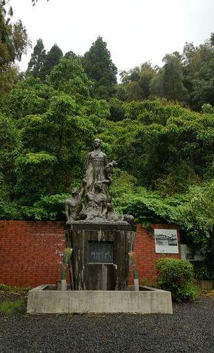 우키시마호 희생자들을 기리는 추모공원. [사진 홍미옥]