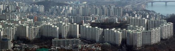 26일 서울 시내 아파트 단지들 [연합뉴스]