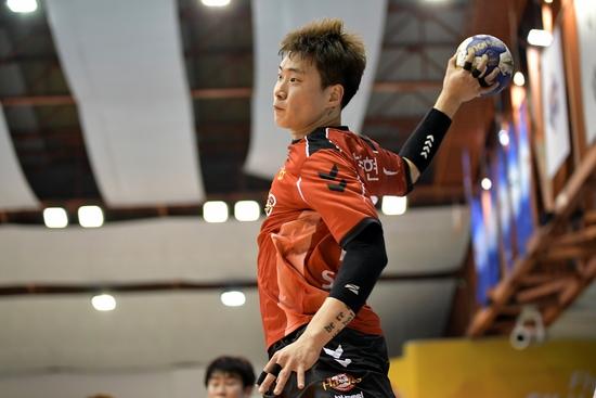 장동현은 2017년, 2018년 승승장구하며 대표팀 주 득점원으로 활약했다.