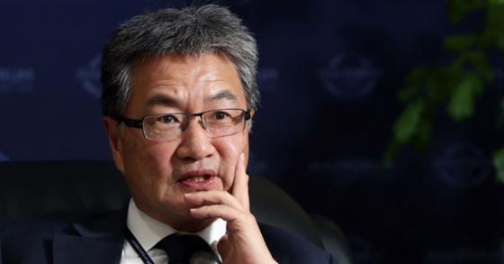 조셉 윤 전 미국 국무부 대북정책특별대표. 김경록 기자