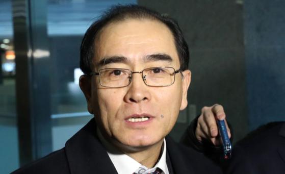 태영호 전 영국주재 북한 공사. 김경록 기자