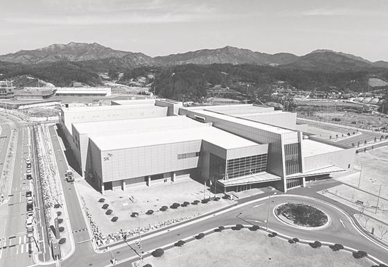 안동시 풍산읍 괴정리 경북바이오산업단지에 들어선 SK케미칼 백신 공장. [사진 안동시]