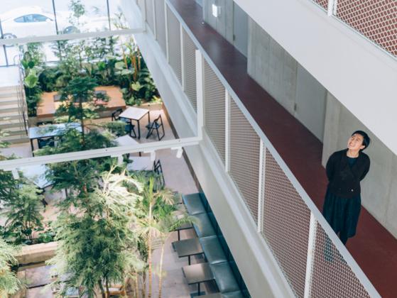 코오롱 하우스비전의 공유주택 '커먼라이프 역삼 트리하우스'를 설계한 멜로디 송. [사진 이지응 작가]